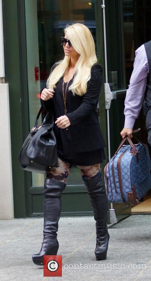jessica simpson jessica simpson seen in soho 3982615