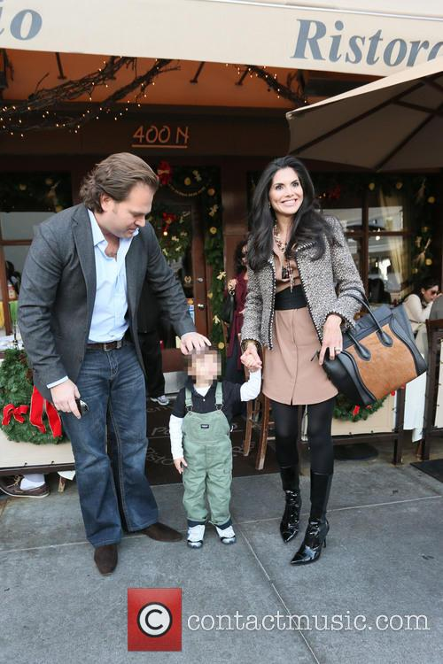 Michael Ohoven, Joyce Giraud and Valentino Ohoven 6