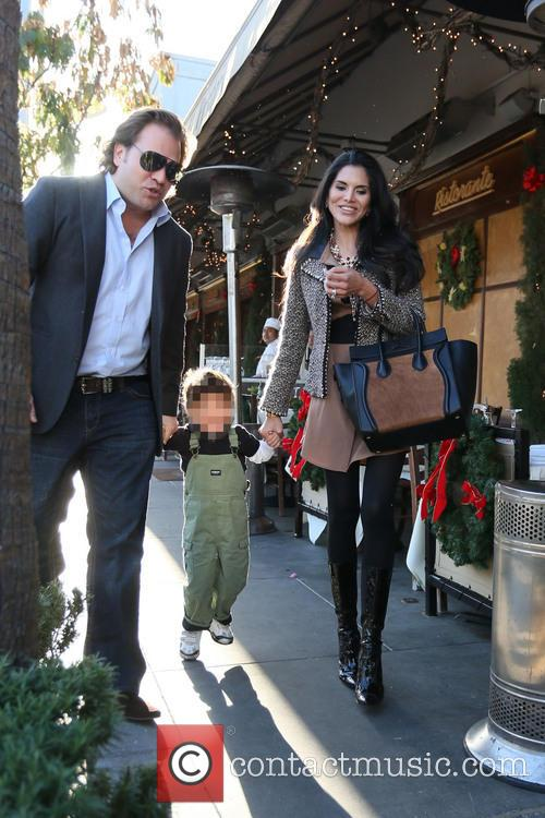 Joyce Giraud, Valentino Ohoven and Michael Ohoven 5
