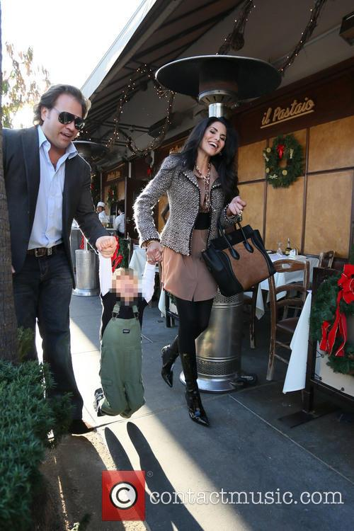 Joyce Giraud, Valentino Ohoven and Michael Ohoven 7