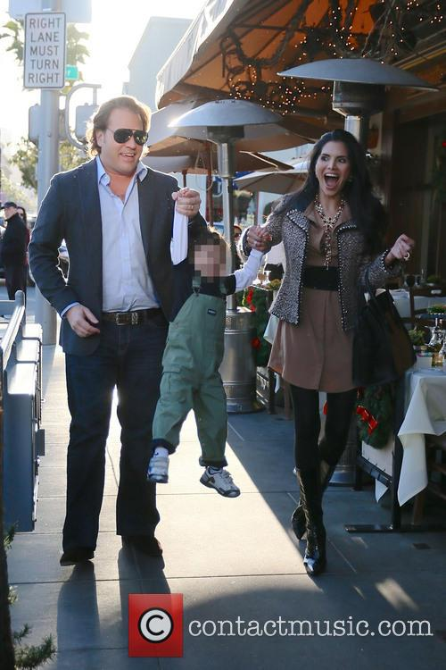Joyce Giraud, Valentino Ohoven and Michael Ohoven 9