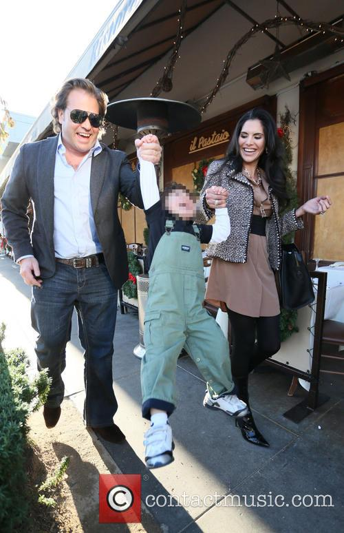 Michael Ohoven, Valentino Ohoven and Joyce Giraud 4