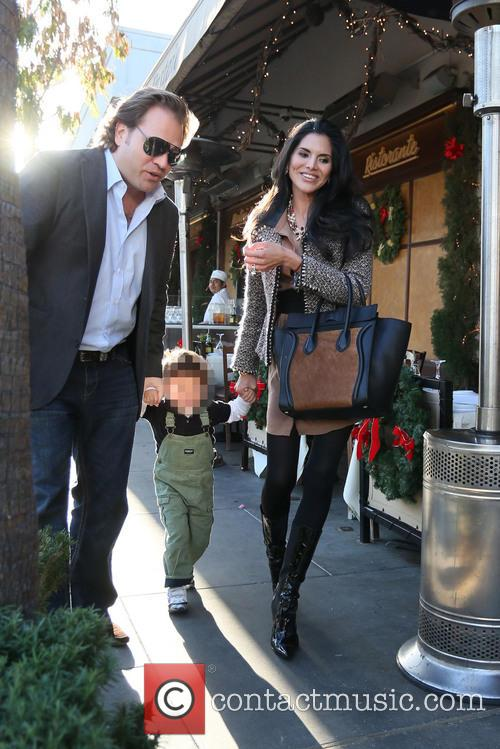 Michael Ohoven, Valentino Ohoven and Joyce Giraud 8