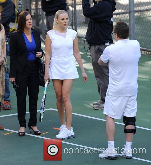 Malin Akerman, Bradley Whitford and Marcia Gay Harden