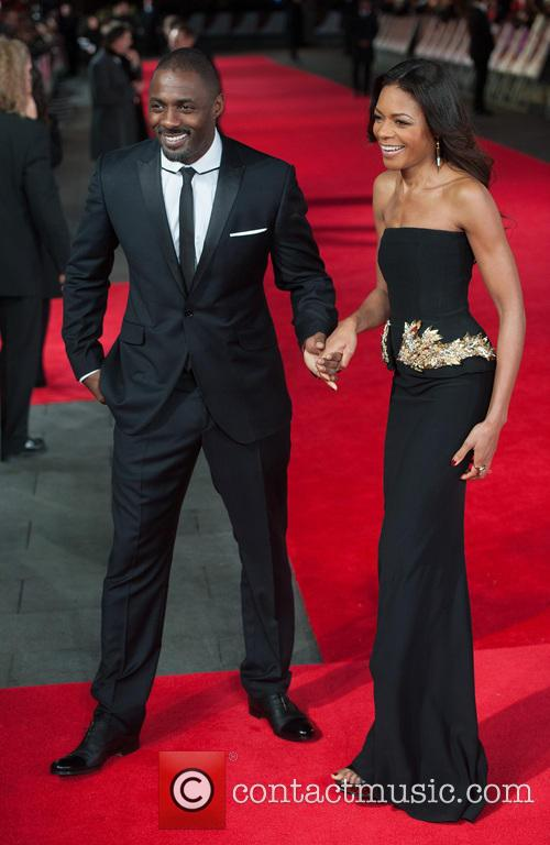 Idris Elba and Naomie Harris 1