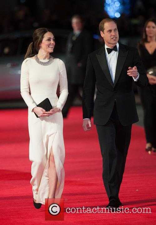 The Duchess Of Cambridge, The Duke Of Cambridge and Prince William 1
