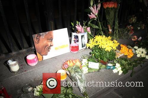 Mandela Tributes At South Africa House
