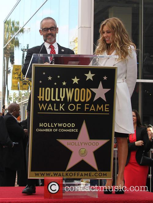 Thalia is honored with a Star on the...