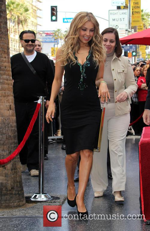 thalia thalia is honored with a star 3983339