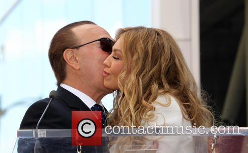 Tommy Mottola and Thalia 6