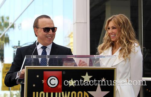 Tommy Mottola and Thalia 7