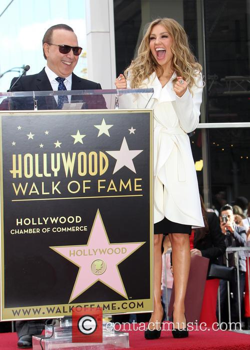 Tommy Mottola and Thalia 9
