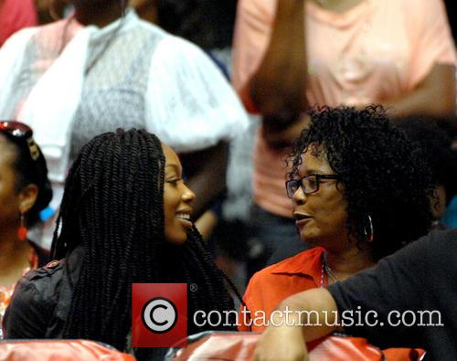 Brandy Norwood and Sonja Norwood 9