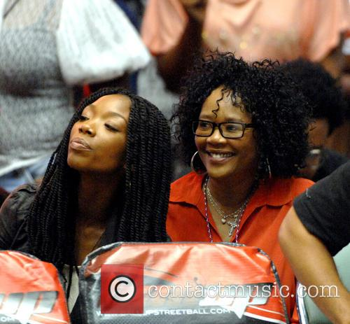 Brandy Norwood and Sonja Norwood 1