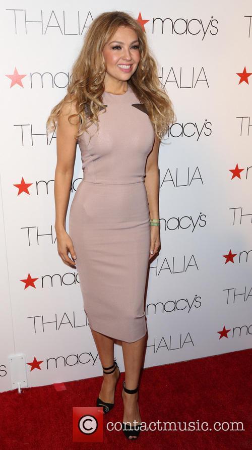 Macy's celebrates Latin superstar Thalia