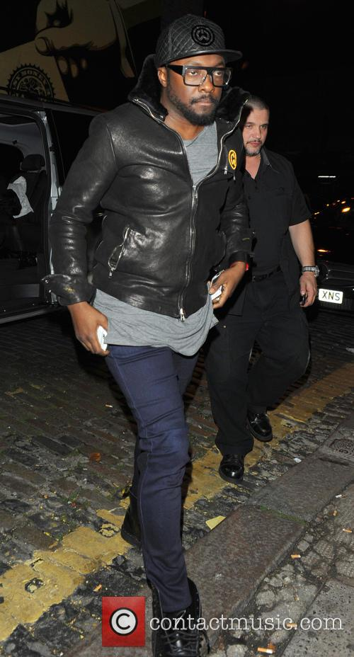 will i am celebrities outside shoreditch house 3984274