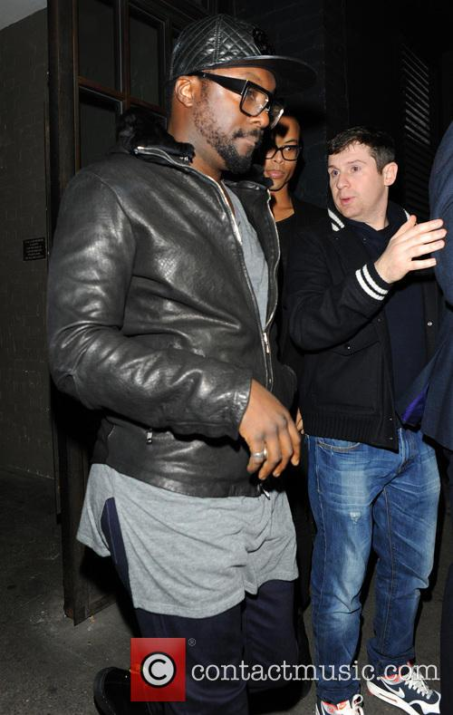 will i am celebrities outside shoreditch house 3984275