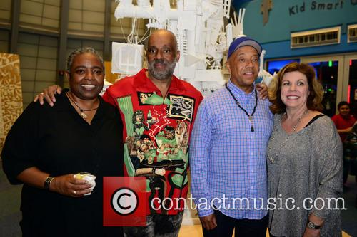 Dianne Hankerson, Danny Simmons, Russell Simmons and Deborah Spiegelman 3