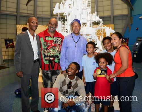 Victor Matthews, Danny Simmons and Russell Simmons 3
