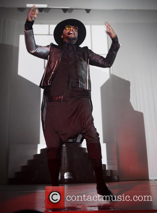 Will.i.am performs live