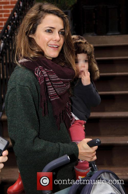 Keri Russell and Willa Deary 2