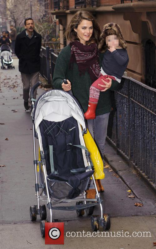 Keri Russell and Willa Deary 1
