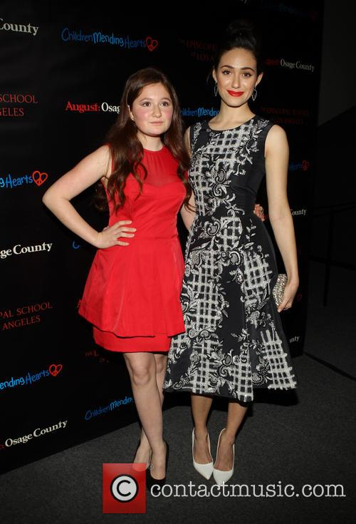 Emma Kenney and Emmy Rossum 2