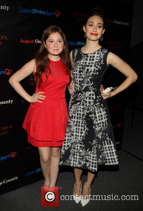 Emma Kenney and Emmy Rossum 1