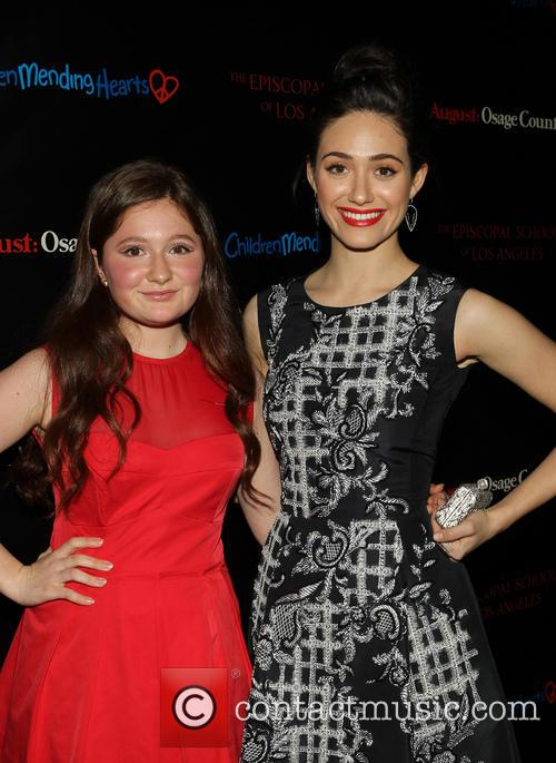 Emma Kenney and Emmy Rossum 4