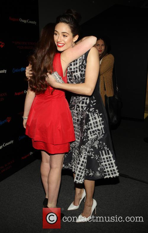 Emma Kenney and Emmy Rossum 7