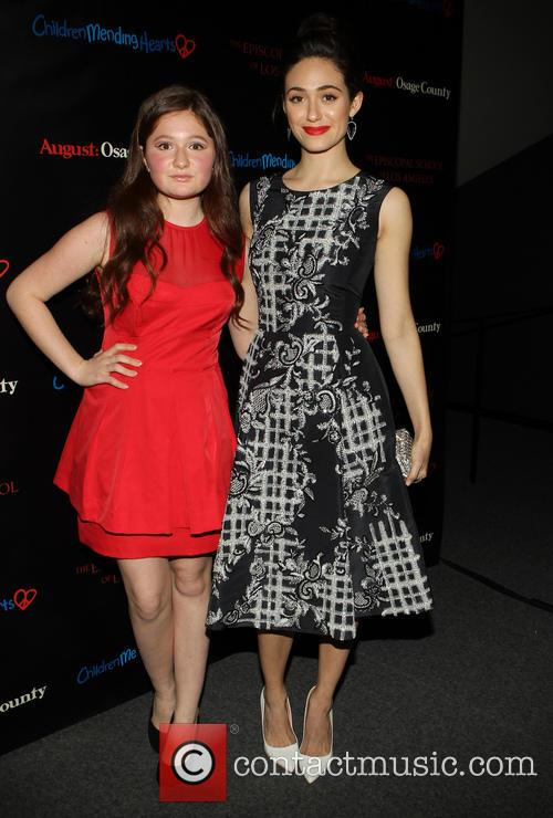 Emma Kenney and Emmy Rossum 9