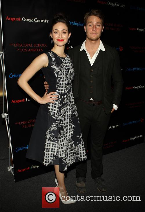 Emmy Rossum and Jake Mcdorman 6