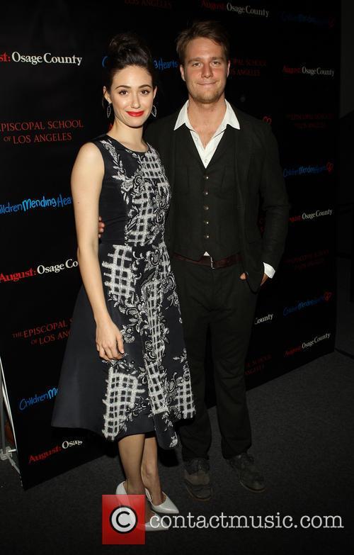 Emmy Rossum and Jake McDorman 7