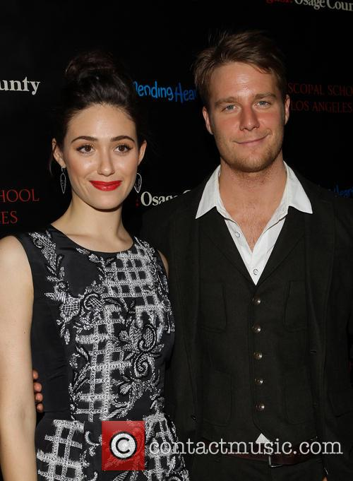 Emmy Rossum, Jake McDorman, the Landmark Theater