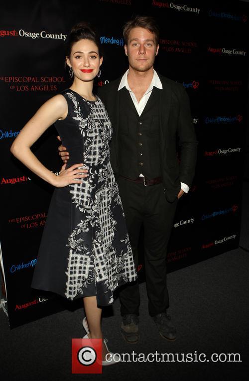 Emmy Rossum and Jake McDorman 10