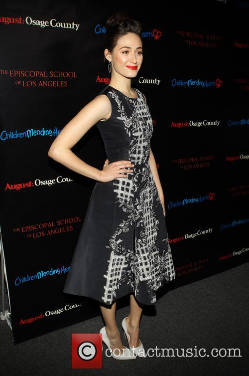 Emmy Rossum, the Landmark Theater