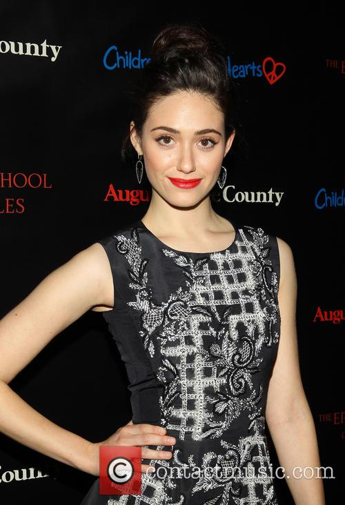 Emmy Rossum, August: Osage County Premiere