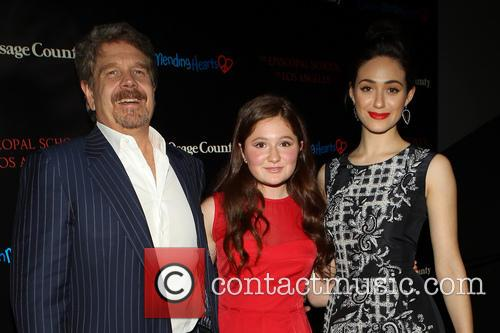 John Wells, Emma Kenney and Emmy Rossum 3