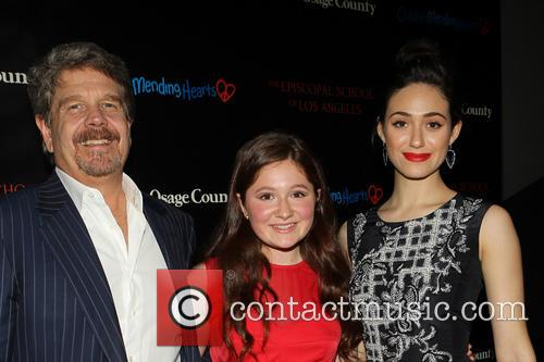 John Wells, Emma Kenney and Emmy Rossum 5