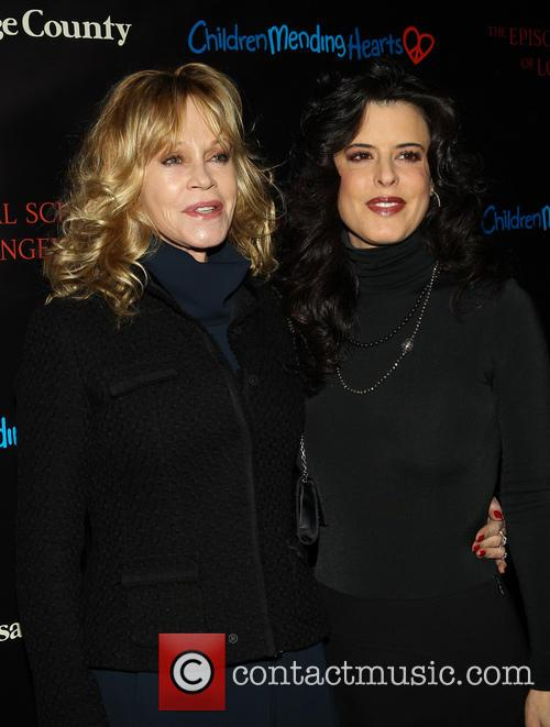 Melanie Griffith and Guest 4