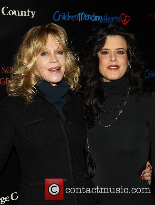 Melanie Griffith and Guest 5