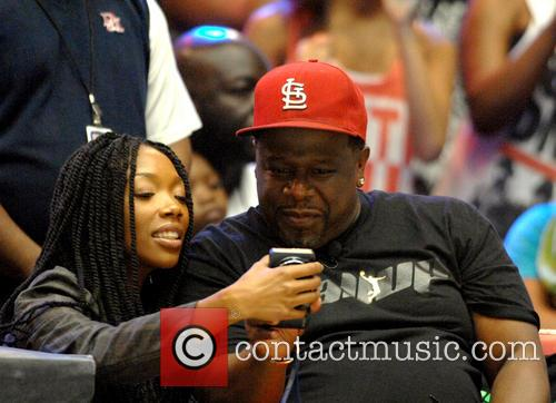 Brandy Norwood and Cedric The Entertainer