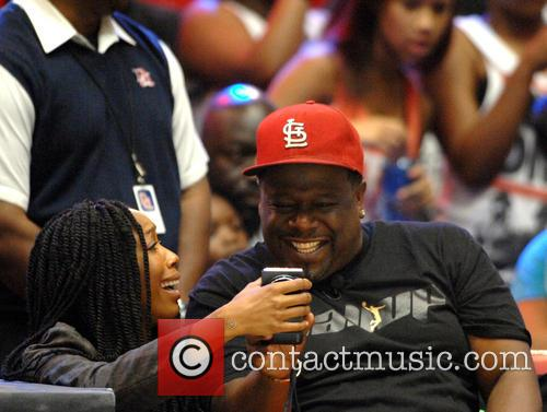 Brandy Norwood and Cedric The Entertainer 6