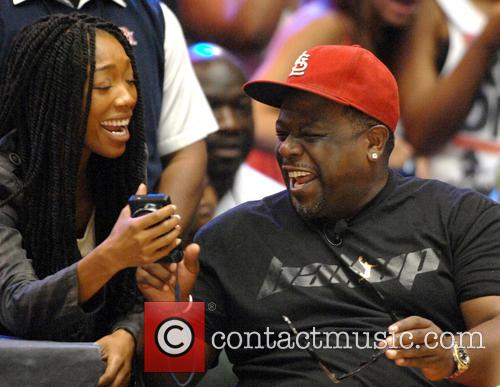 Brandy Norwood and Cedric The Entertainer 7