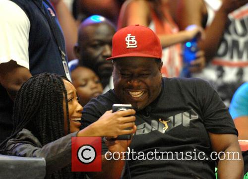 Brandy Norwood and Cedric The Entertainer 8