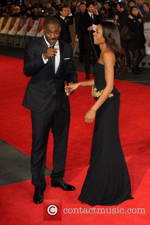 Idris Elba and Naomie Harris 7