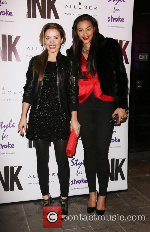 Elen Rivas and Amal Fashanu