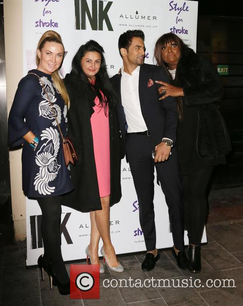 Meg Matthews, Kiran Sharma, Upen Patel and Mica Paris 2