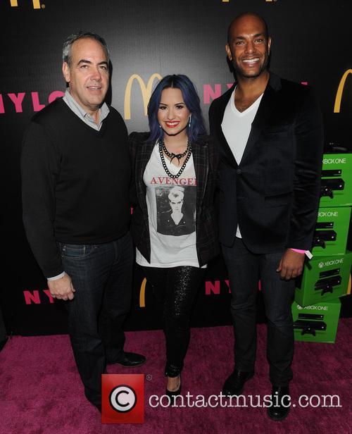 Demi Lovato and Karim Abay 4