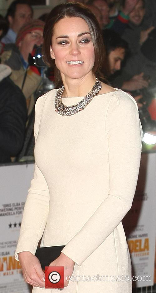 Kate Middleton Long Walk to Freedom premiere